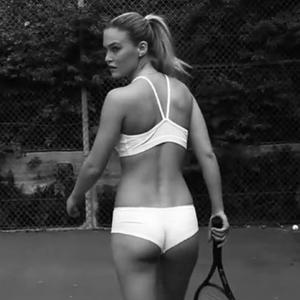 Bar Refaeli has released a cheeky video to promot her new underwear line.