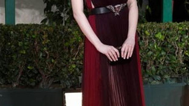 Emma Stone's plunging Lanvin dress was a hit