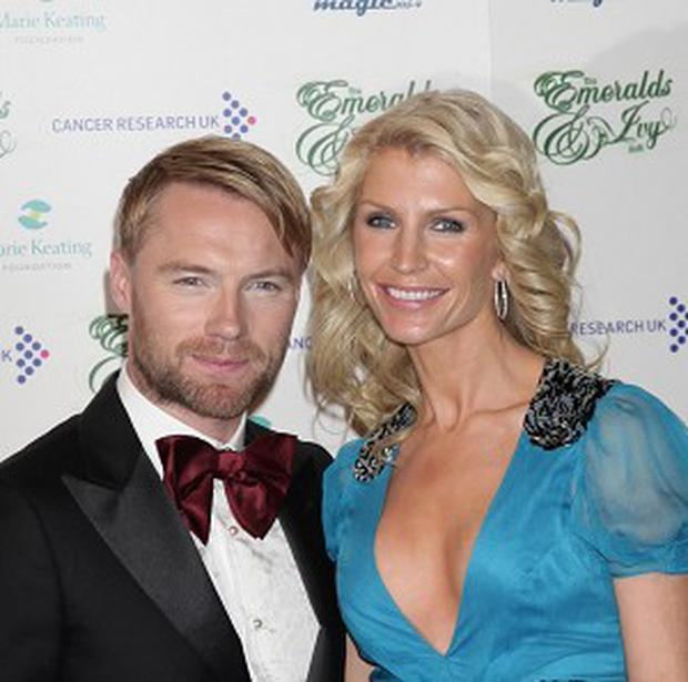 Ronan Keating and his wife Yvonne confirmed they have split