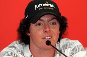 McIlroy's focus turns to Abu Dhabi bid after waywrd drive winds up in neighbour's cabbage patch Photo: Getty Images