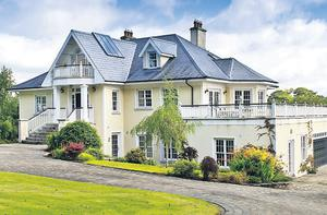 Overlooking the fairways: 12 Fox Covert in Mount Juliet, was worth about €5m at peak and is now asking €2.5m