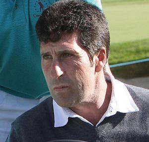 Ryder Cup captain Jose Maria Olazabal