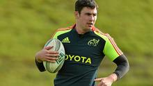 Felix Jones has lots to gain with a good performance for Munster against Zebre