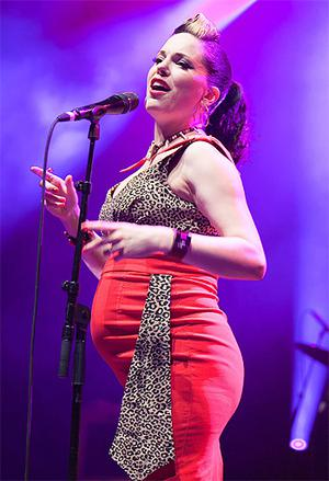 Imelda May performs live at the Olympia in Paris