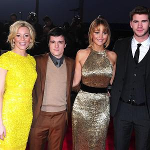 The Hunger Games cast is still topping the US box office chart