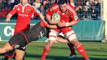 Munster were beaten by Toulon to go out of the Heineken Cup. Photo: Getty Images