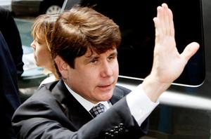 Rod Blagojevich, once a rising star of the Democratic party. Photo: Getty Images