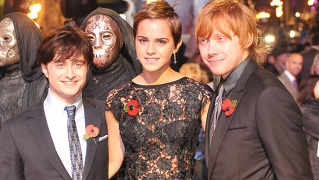 The Harry Potter films, starring Daniel Radcliffe, Emma Watson and Rupert Grint, will be honoured by Bafta. Photo: PA