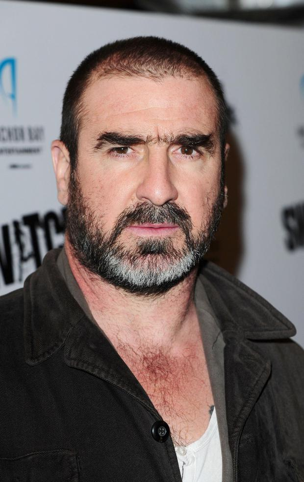 Eric Cantona arrives at a screening of film Switch, at Cineworld in London. PRESS ASSOCIATION Photo. Picture date: Monday March 26, 2012. See PA story SHOWBIZ Switch. Photo credit should read: Ian West/PA Wire