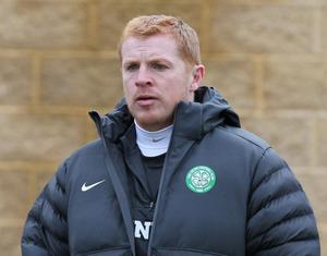 Celtic manager Neil Lennon during a training session at the Lennoxtown Training Complex, Glasgow. PRESS ASSOCIATION Photo. Picture date: Tuesday November 6, 2012. See PA story SOCCER Celtic. Photo credit should read: Andrew Milligan/PA Wire.