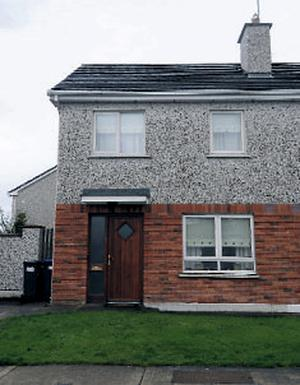 The house where missing Aoife was last seen
