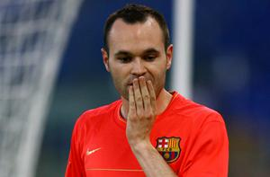 Andres Iniesta Photo: Getty Images