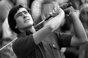 A fresh-faced Seve in July 1976 aged 19. Photo: PA