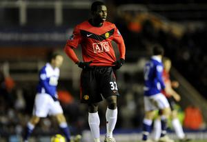 Manchester United's Mame Diouf makes his debut Photo: Getty Images