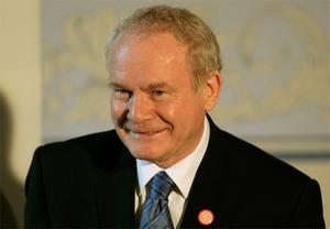 Sinn Fein's Martin McGuinness. Photo: Reuters