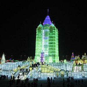 The Harbin International Ice and Snow Sculpture festival in China's Heilongjiang province