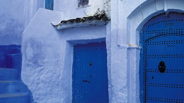 OUT OF THE BLUE: The port town of Essaouira offers a change of pace from Marrakech