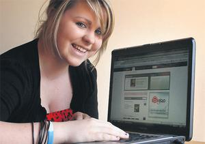 Cautious: Sixteen-year-old Aisling Weldon makes sure to keep her Bebo profile set to private