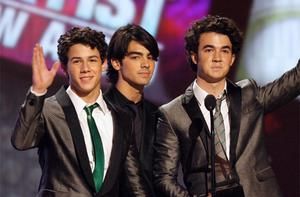 Making €24,627,047 the Jonas Brothers placed seventh on the top music money makers list. Photo: Reuters