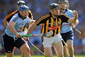 Shane Ryan (L) has announced his retirement from inter-county hurling due to a persistent back injury. Photo: Sportsfile