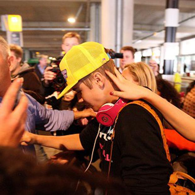 Justin Bieber has been in London to launch his new album