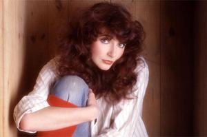 Beating about the bush: Steve Blacknell has been named as the subject of Kate Bush's hit 'The Man With The Child In His Eyes'
