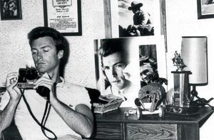 Picture perfect: Clint Eastwood plays around with camera at home in 1962
