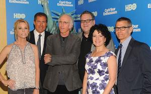 The cast  OF 'Curb' at the launch of Season 8 on DVD