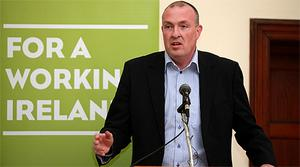 Dublin Football manager Pat Gilroy at a public meeting on the Referendum at the Marino Institute, Dublin