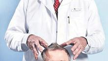 SCALPED: Dr Collins is a guest at tonight's 'X Factor' final