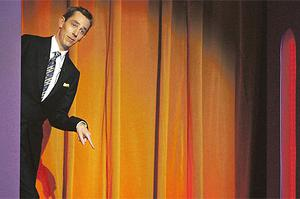 Enter stage left: Late Late Show host Tubridy is set to fill in for Graham Norton on the Beeb during the summer