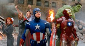 David Cameron and the cast of the Avengers take on the world.