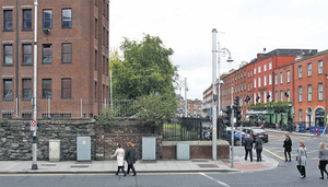 The Real IRA surveillance began earlier this week when a man using a false name rented a room in the Harcourt Hotel, directly across the road from the Garda's Dublin headquarters at Harcourt Square.