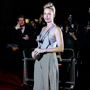 Charlize Theron says people are surprised that she has a sense of humour, because she often plays dark roles
