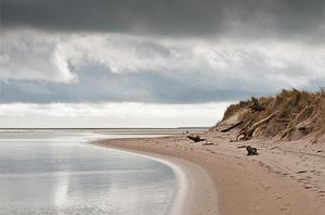 Curracloe Beach on a Spring morning by Gearóid Gibbs which came first in the under 18s category. Photo: PA