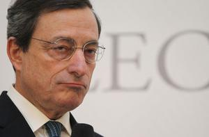 European Central Bank President Mario Draghi. Photo: Getty Images