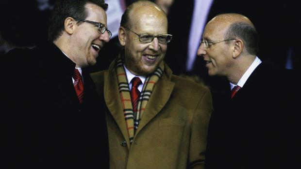 Manchester United owners Joel, Avram and Bryan Glazer. Photo: Getty Images