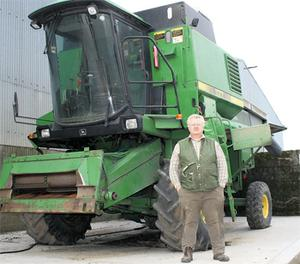 Frank stocks a lot of parts for brands and models that are popular in Ireland, such as John Deere