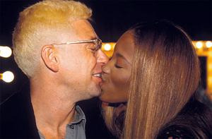The stars of the halcyon clubbing days: Adam Clayton and Naomi Campbell