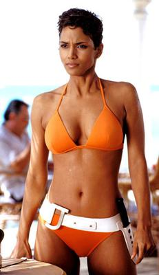 Halle Berry as Jinx Johnson in 2002's Die Another Day