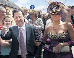 Declan Nerney and his wife