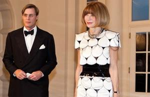 Anna Wintour at the White House recently