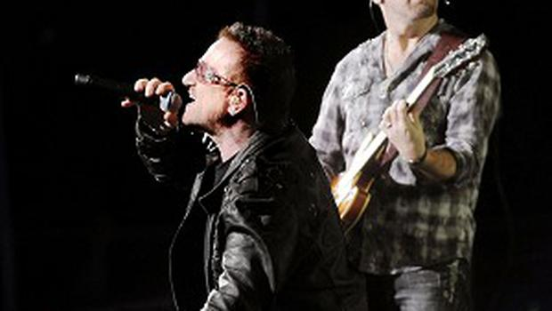 U2 and the Edge have hailed the success of their Broadway hit, Spider-Man Turn Off The Dark