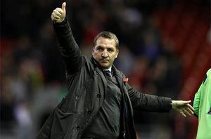 Brendan Rodgers: poised to replace King Kenny and complete his remarkable rise. Photo: Getty Images