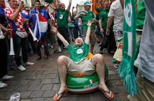 Irish supporters