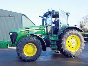 The stolen John Deere 7730 had been bought by an unsuspecting farmer who was given false paperwork