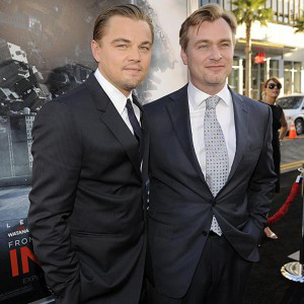 Inception, starring Leonardo DiCaprio and directed by Christopher Nolan, is America's No 1