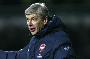 Arsene Wenger has apologised for William Gallas' tackle on Mark Davies Photo: Getty Images