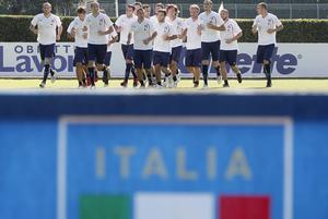 The Azzurri are due to meet Nigel Worthington's men in Belfast on Friday. Photo: Getty Images