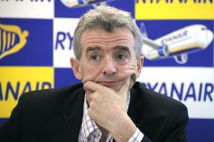 Ryanair  chief Michael O'Leary. Photo: Getty Images